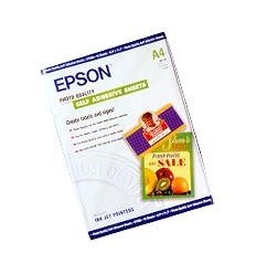 Epson Photo Quality Ink Jet Paper self-adhesive, DIN A4, 167g/m², 10 sheets
