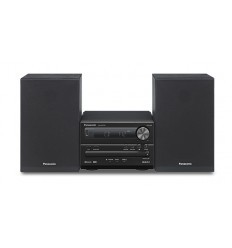Panasonic SC-PM250 Home audio micro system 20W Musta