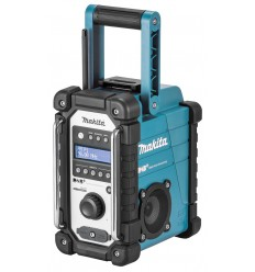 Makita DMR110 radio Worksite Digitaalinen Musta, Turkoosi